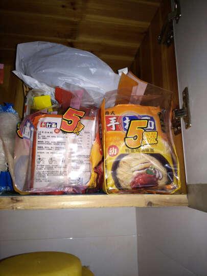 寿桃牌(SAU TAO)幼条手打面 350g(70g*5包) 袋装 多种口味可选 (鲜虾云吞味) 晒单图