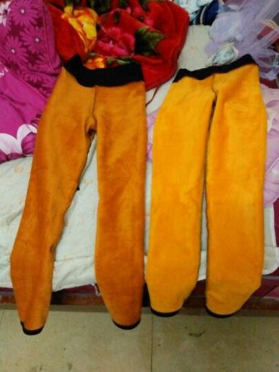 南极人梭织打底裤女外穿前后口袋砂洗小脚裤子女九分DF 黑色后口袋132 XL 晒单图