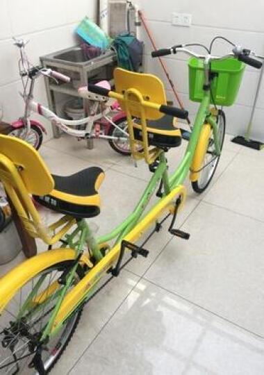 迈高登皇捷 双人自行车成人24寸情侣车两人骑脚踏车旅游景点出租观光车 车棚 晒单图