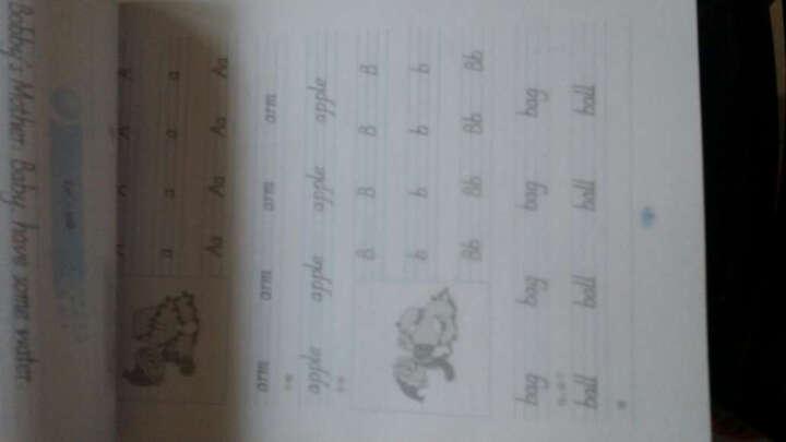 华夏万卷字帖 小学英语写字课课练:三年级上册(新课标PEP版 三年级起点) 晒单图