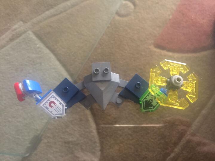 lego乐高积木拼插NEXO未来骑士团克雷要塞机甲拼装儿童玩具 魔炎上将的末日攻城车L70321 晒单图