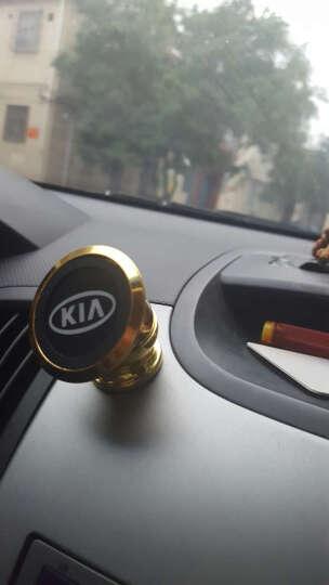 xiyeer 车载手机磁铁支架 磁性仪表台通用多功能创意汽车手机座手机架导航GPS手机支架 土豪金 起亚K2秀尔赛拉图福瑞迪K3SK4K5千里马KX5 晒单图