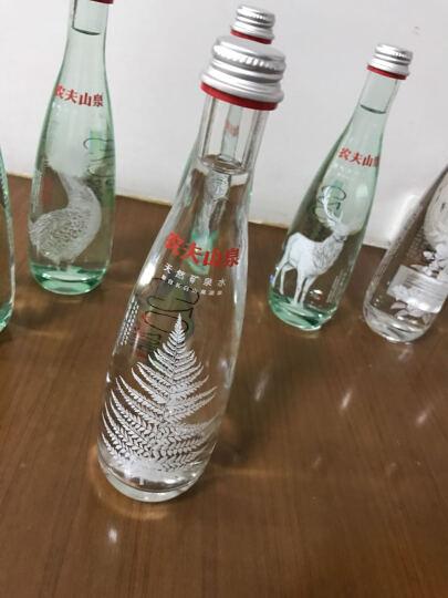 农夫山泉 高端充气天然矿泉水(玻璃瓶)350ml*8瓶 礼盒(图案随机) 晒单图
