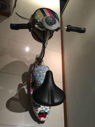 威科朗(weklan) 威科朗电动三轮车小海豚迷你折叠电动车女士电瓶车电动自行车代步车 黑色 36V蓄电池-350W无刷电机-续航30-35公里 晒单图