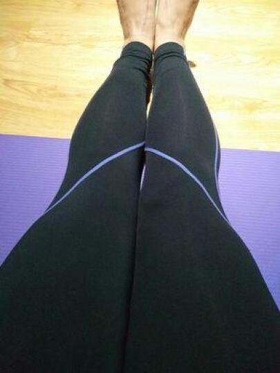 EU瑜伽服 健身服套装女三件套件 舞蹈健美操跑步减肥弹力紧身衣服长袖长裤春秋 套装18 M 晒单图