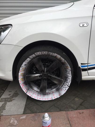 佳卡诺 第二代 汽车轮毂喷膜 可撕喷漆 轮毂改色 车身改色 轮毂自喷漆 改色漆 1瓶 荧光红 晒单图