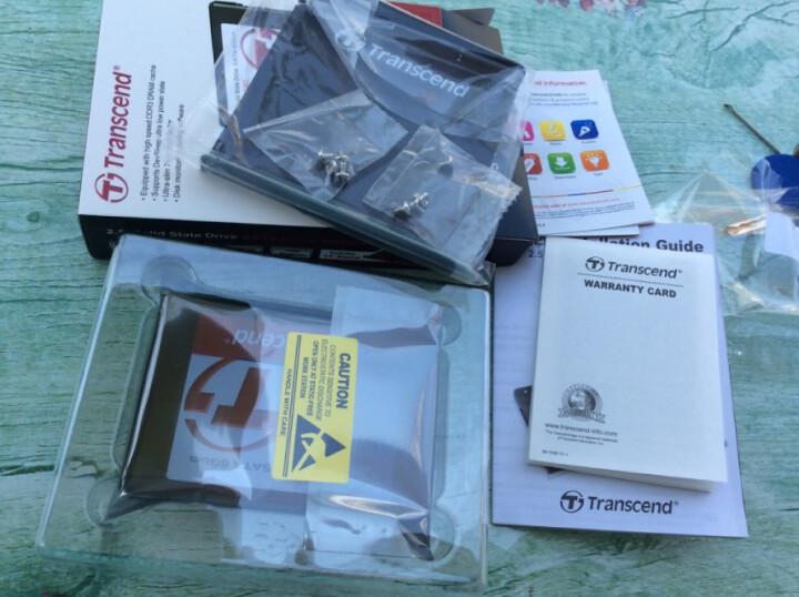 创见(Transcend) 340系列 128G SATA3 固态硬盘 晒单图