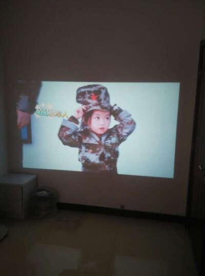 轟天砲(Poner Saund) 家用高清无线wifi投影仪 LED智能办公家庭影院 LED96白色 wifi版 晒单图