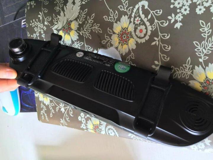 行车记录仪高清 后视镜 倒车影像一体机可选导航电子狗 5英寸基础版双镜头+16g内存卡 晒单图