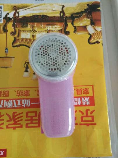 志高(CHIGO)毛球修剪器充电式剃毛刮毛剪毛器 ZG-M180B 粉色 晒单图
