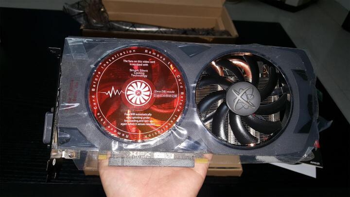 讯景(XFX)RX 480 8G 黑狼版 1288MHz/8GHz 256bit GDDR5 显卡 晒单图