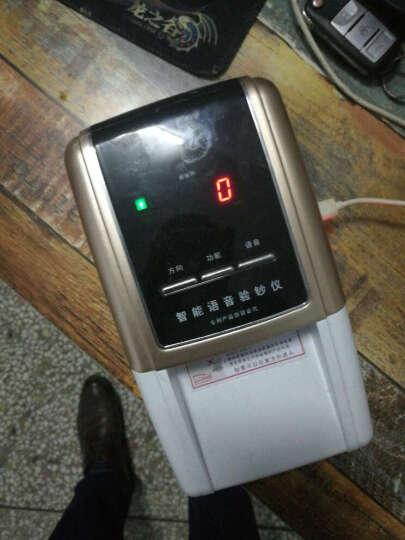 欣阳识别新版人民币 交直流车载 小型充电点钞机 便携式单张验钞机 4个方向进钞 USB升级 插电使用升级款 晒单图