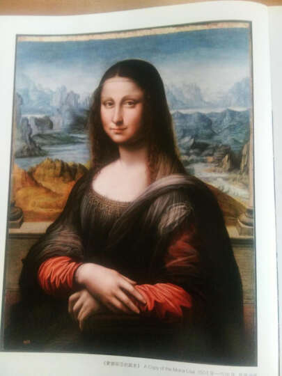 经典油画原大版(文艺复兴三杰):达·芬奇 拉斐尔 米开朗基罗 晒单图