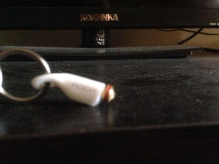 ROCK 耳机手机防尘塞家电红外线遥控器 适用于苹果iPhone6s/5s/4/iPad 易控S-白色 晒单图