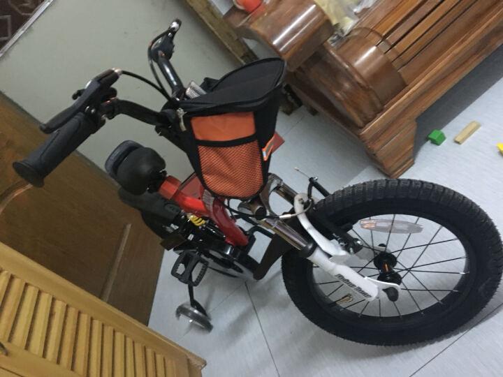 优贝(RoyalBaby) 儿童自行车 男女童车 儿童单车 12/14/16寸 双避震 红色 14寸 晒单图