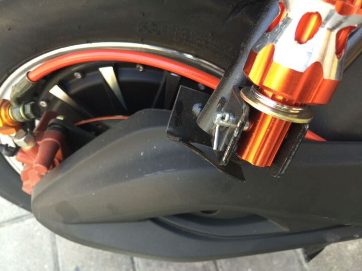菲尔斯 炫酷新款地平线电动车 电动摩托街跑车大排公路赛踏板助力代步电瓶车 水转印+200 前17寸后16寸3000W电机--空车不含电池 晒单图