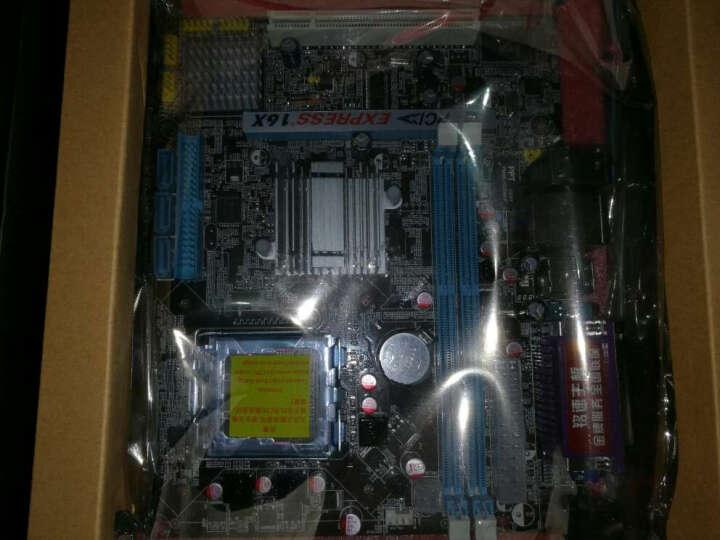 mingsu铭速G41侠客版Intel 775针 百兆 DDR3双面 g41主板 晒单图