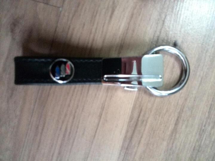 迪加伦 真皮汽车钥匙扣 车用钥匙链环 男士 创意 汽车用品 宝马大众丰田本田 18款新 现代 全新途胜胜达朗动名图索纳塔九瑞纳IX35悦动 黑色 晒单图