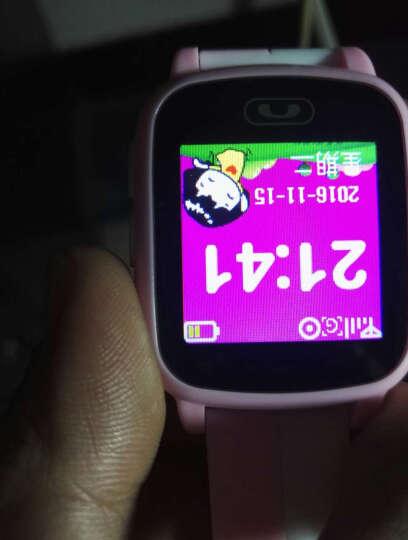 儿童电话手表插卡学生防水触摸彩屏GPS定位防丢男女孩通话手表手机 蓝色 晒单图