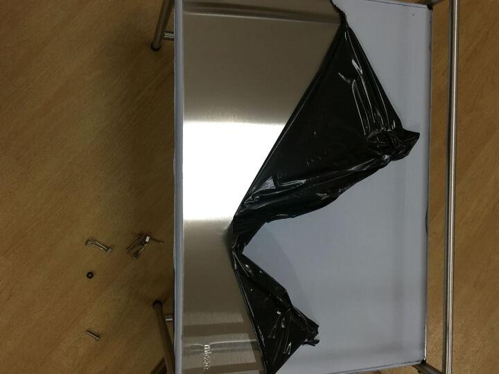 四季沐歌(MICOE) 微波炉架子不锈钢厨房置物架收纳架厨房用品烤箱架 单层53cm长 晒单图