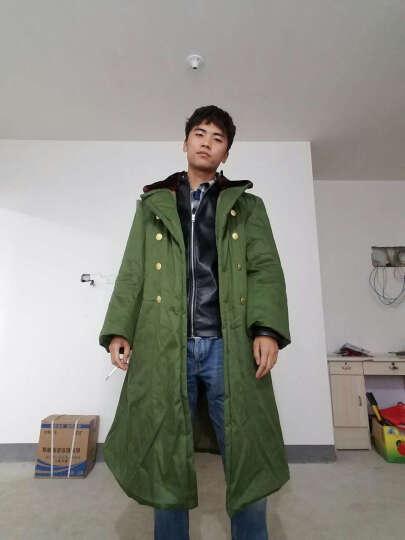 悍顿(HanDun) 悍顿荒漠防寒服棉袄子男款加厚款保暖冬季军大衣长款男棉大衣 黑色 均码 晒单图