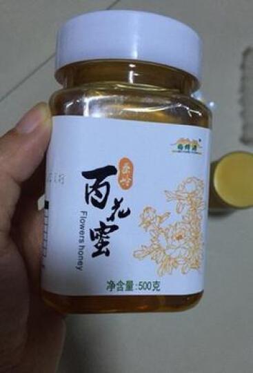 天未然牌蜂蜜 梅蜂源秦岭百花蜜 500克/瓶  晒单图