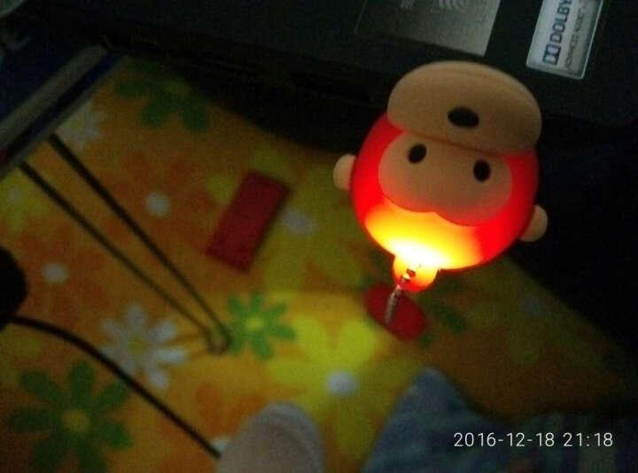 权尚 猴子卡通U盘 个性迷你可爱u盘 时尚创意礼品u盘 绿色 64GB 晒单图