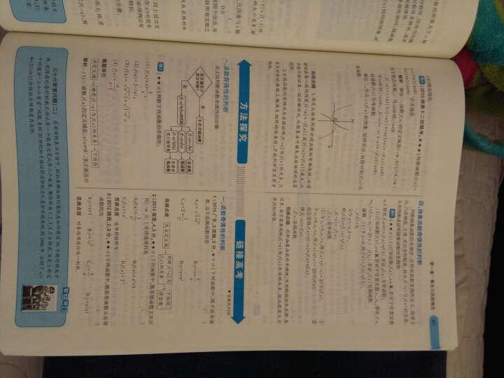 高中数学 必修1 RJ-B(人教B版)/高中同步新课标 5年高考3年模拟(2017) 晒单图