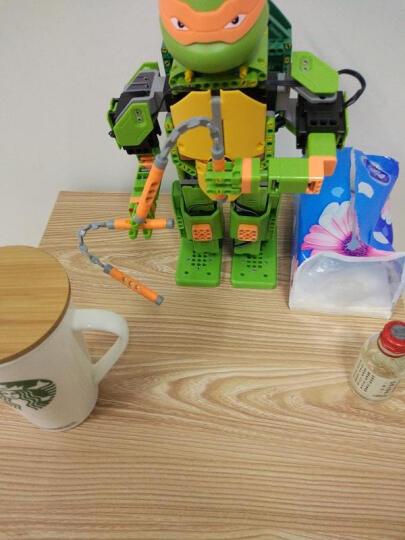 优必选Jimu积木忍者龟智能机器人玩具 儿童益智电动拼装唱歌跳舞互动动作编程遥控机器人玩具 莱昂纳多-APP遥控积木智能机器人 晒单图