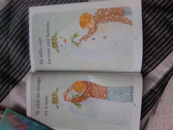 The Snowman进阶式阅读丛书1:雪人出来了 英文原版 晒单图