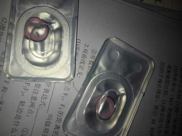 2片装】卡洛尼糖果色混血灰大直径美瞳女年抛14.5mm彩色隐形眼镜 TC 黑色 200度 晒单图
