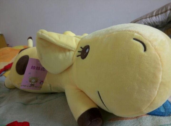 可爱趴趴大号长颈鹿公仔睡觉抱枕毛绒玩具小鹿玩偶布