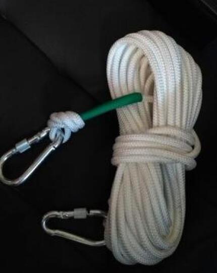 泰东安 户外登山绳攀岩绳缓降器救生绳非逃生专用绳 3件套(安全腰带缓降器手套) 晒单图