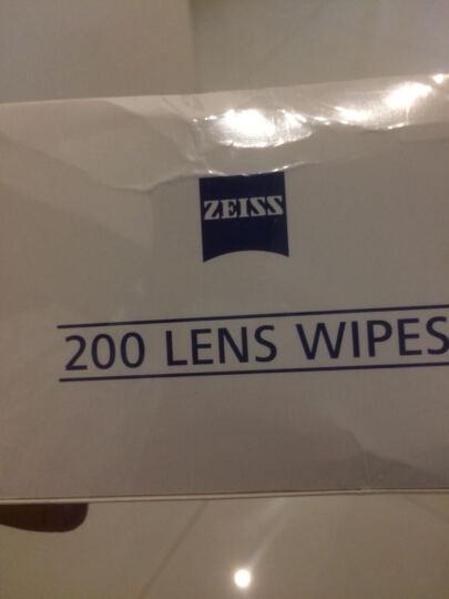 蔡司(ZEISS)拭镜纸擦镜纸 镜头纸 清洁湿纸巾 100片 晒单图