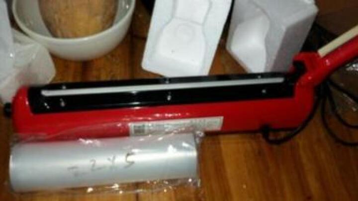 纳丽雅 封口机手压迷你包装机家用塑料袋塑封机手动铝箔薄膜热封机 红色 晒单图