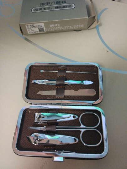 拍趣 美甲六件套 指甲刀套装工具 美容化妆工具 旅行修甲套装 包装颜色随机 晒单图