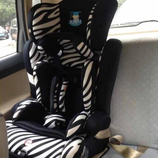 文博仕(Venbothe) 文博仕 儿童安全座椅 汽车用9个月-12岁送ISOFIX链接带 动感精灵 晒单图