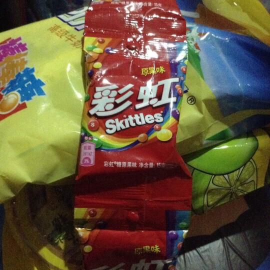 绿箭彩虹糖果味果汁糖儿童糖果办公室休闲食品彩虹豆 15g/包 晒单图