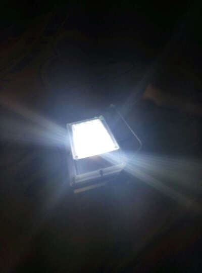海阁拉斯 LED泛光投光灯 50W30W60W工矿广场球场照明广告投射灯具户外防水 正白暖白默认发正白 晒单图