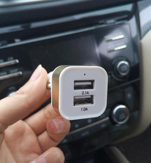 麦车饰 汽车用品车内饰品车上用品超市车载装饰车载充电器 QC3.0快充-黑色 车载充电器 晒单图