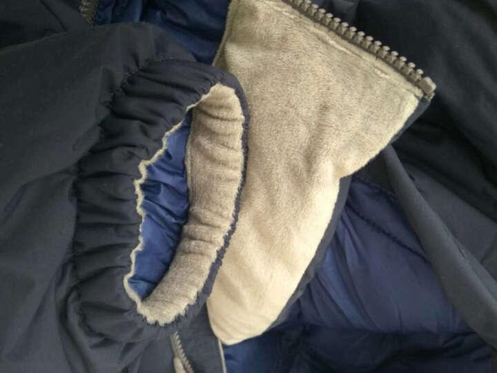 黑冰天枢冬季加厚款户外羽绒服男白鹅绒天璇PLUS羽绒衣女F8509/8512 男款-军绿(升级新款拒水鹅绒) M 晒单图