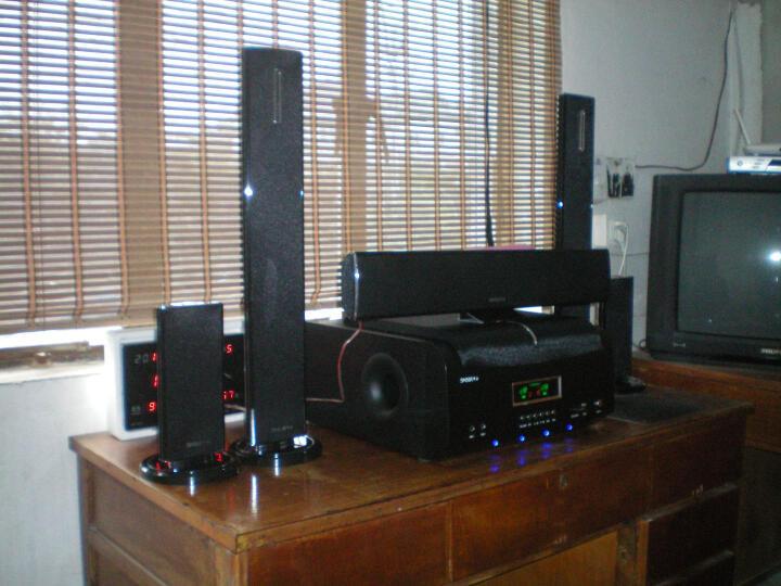 申士(SNSIR) Y系家庭影院无线 5.1音响组合 家庭KTV音响套装 土豪金壁挂式豪华版 晒单图
