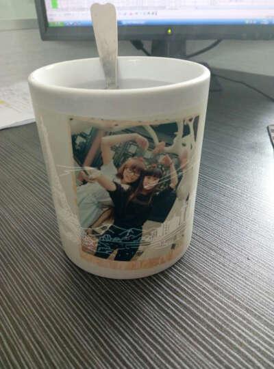心生忆 图中图变色杯子定制diy印照片 马克杯定做相片情侣水杯创意生日礼物情人节礼品送男女朋友 一生一世 杯子+蓝色珍藏礼盒+盖勺 晒单图