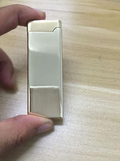 honest百诚电弧打火机USB充电打火机防风金属脉冲摇动感应创意个性电子点烟器情人节表白礼物 象牙白 晒单图
