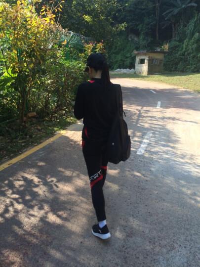 春季长袖足球服套装户外足球训练服长袖运动服足球长裤运动裤 小学生儿童足球服长款套装 红色白边套装5553+9073 26#(130-140)cm 晒单图