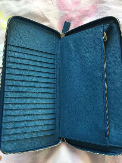 PRADA 普拉达 男士波罗的海蓝牛皮革钱夹 皮夹 钱包 2MO513 PN9 F0216 晒单图