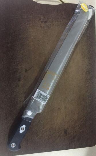 十八子作 阳江刀具 不锈钢水果刀 瓜果刀 西瓜刀不锈钢S205-B 切蛋糕刀 晒单图