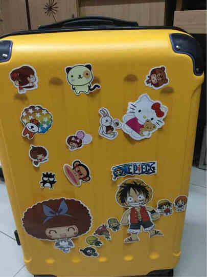 波米拉杆箱万向轮旅行箱男女行李箱24英寸26英寸28英寸登机密码箱20英寸 磨砂黄色带扩展 24英寸 晒单图