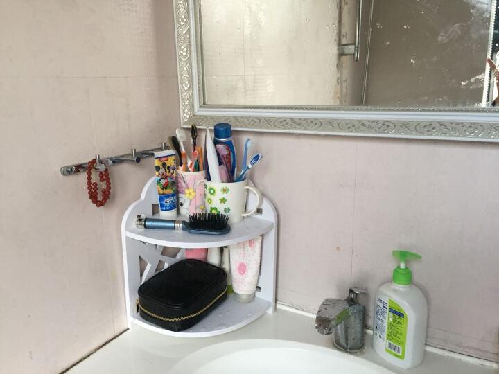 转角置物架置物架浴室台面化妆品收纳架书房卧室收纳架落地书架组合架子马桶边柜储物架层架隔 大清2层转角 晒单图