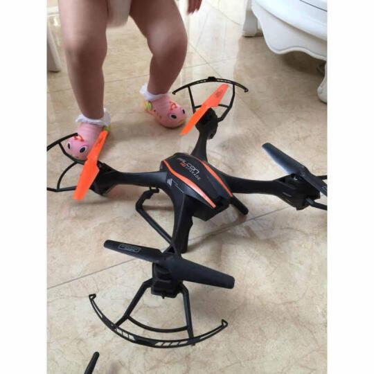 优迪耐摔大型48CM专业高清无人机航拍飞行器四轴遥控飞机玩具航拍器航模 黑色单电 - 不含摄像头 不能航拍 晒单图